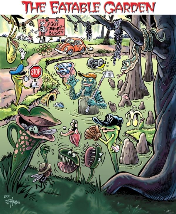 2001 Spring - The Eatable Garden