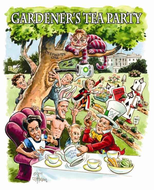 2010 Fall - Gardner's Tea Party