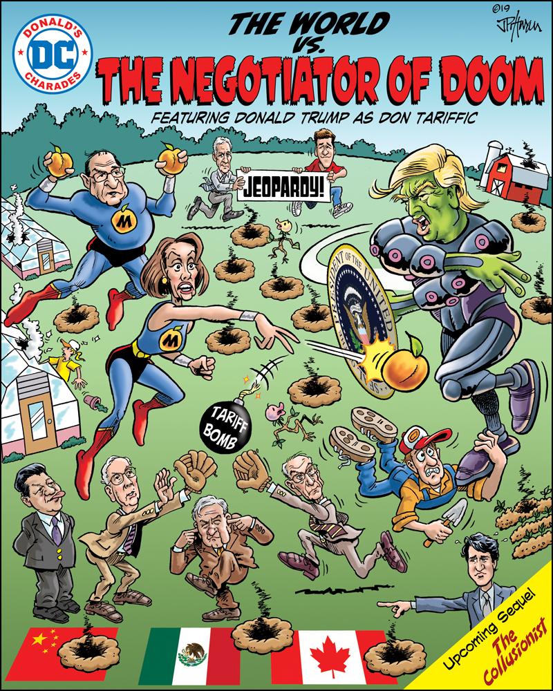 2019 Fall - The Negotiator of Doom