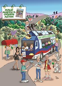 2019 Spring - Making America Green Again