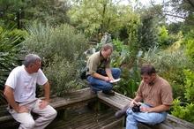 Tony, Sean Hogan, Richard Olson at PDN (J. Grimshaw)