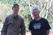 Hans Hansen and Tony Avent