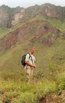 Tony photo in wild Argentina