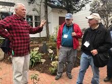 Tony speaking to Magnolia Society Tour Dick Figlar r
