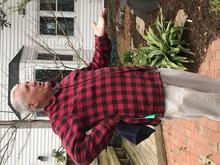 Tony speaking to Magnolia Society tour