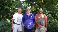 Tony with John Kartez and David Parks