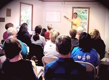 Tony teaching the Soils Class 11/2013