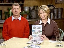 Tony and Martha Stewart